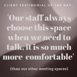 A happy client conversation from yesterday... thanks Ross from RMIT, Bldg 52