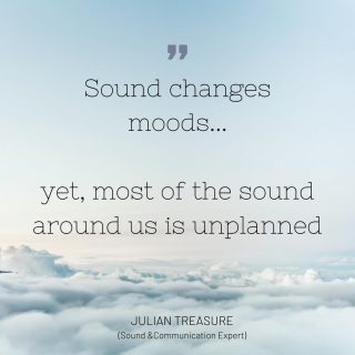 Spending a little time each day creating an intentional soundscape can make a big difference to our moods  #acousticlight #acoustic #acousticsolution #acousticlighting #quiet #acustico #acusticolighting #acousticolighting #attenuation #noisemitigation  #architecture #architect #archilovers #architecturelover #buildings #arquitectura #architexture #architectura #lookingup_architecture #architecturelovers #archidaily #interiordesign #acusticolighting #acousticolighting #calmarchitecture #architexture #quietarchitecture