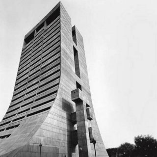 Brutalist architecture has been a long-time favourite. I love the drama of these buildings. Their monolithic concrete form, and particularly those that incorporate a curve or a detail that makes it less menacing.  New Delhi Municipal Council Building - | Photo Credit: MIT Libraries, Rotch Visual Collections, courtesy of Peter Serenyi   #brutalist #concrete #brutalistarchitecture #brutalism #modernism #brutalis #brutalislinearcollection